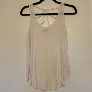 2/$15 Hollister white tank top